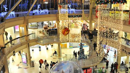 Castle Mall Christmas ExtravaganzaPicture by SIMON FINLAY.