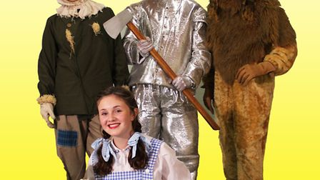 The New Taverham Players are putting on a production of The Wizard of Oz