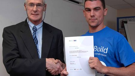 Seb and Gavin Springall, Director at Construction Training Specialists Ltd