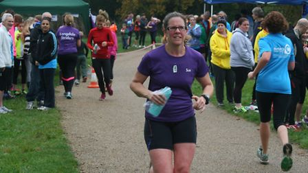 The Longdale Striders held a three-hour endurance relay race in Catton Park to raise money for the B