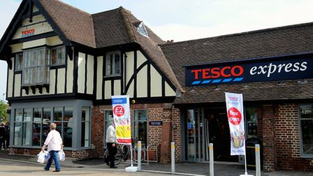 The Tesco Express store at the former Firs pub site, Hellesdon. Picture: Denise Bradley