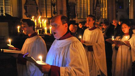 The Norwich Evening News Carols for Christmas service is held in St Peter Mancroft Church, Norwich.P