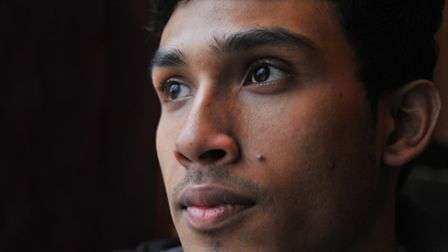 Jakir Ahmed, who was found abandoned on Prince of Wales Road in 2008 and is in the foster care of Sy