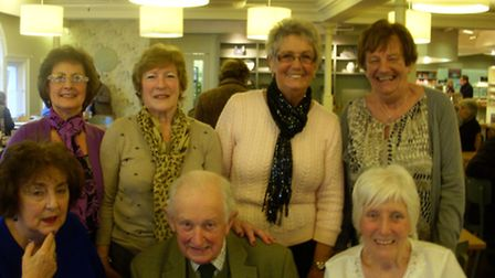 Former pupils at Heigham House school in Norwich from 1958 until 1961 gather to celebrate Peter Ward