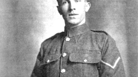 Corporal Sidney James Day, the Lakenham lad who won the VC in the WWI.