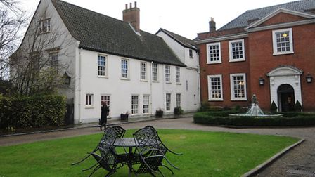 Work has begun on turning St Mary's House at The Assembly House into luxury bedrooms. Picture: ANTON