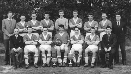 Thursday League memories: Norwich Rangers from 1961. The photograph comes from David Willimott of Ca