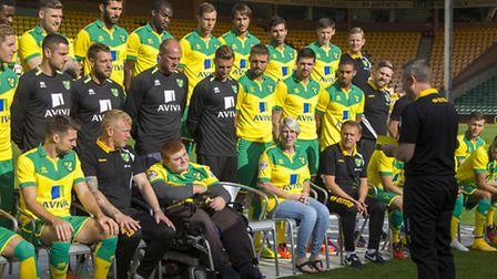 James Frost was given a once in a lifetime experience at NCFC, where he got to meet the players and