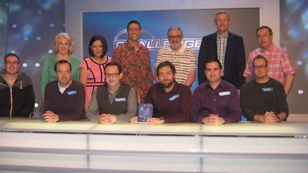 A group of brave quizzers have taken on TV's brightest brains, The Eggheads. Stuart Pointer, Edmund