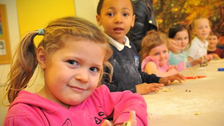 Children having fun at the Community Action youth club at the New Hope Christian Centre, who were gr