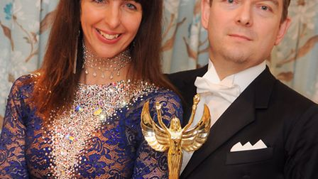 Jane and David Corby recently won a major amateur ballroom dancing competition in Blackpool called C