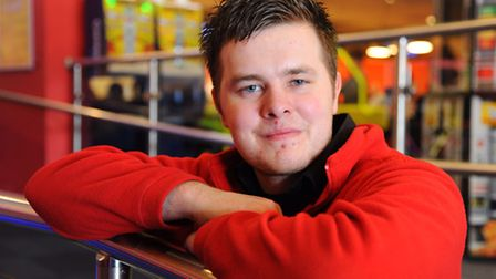 Danny Tickle, 22, who is having a brain operation, is raising funds for Clic Sargent by having his h