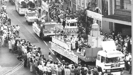 Lord Mayor's Procession. Date: 1984. Picture: EN Library