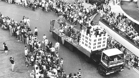 Lord Mayor's Procession. Date: July 1984. Picture: EN Library