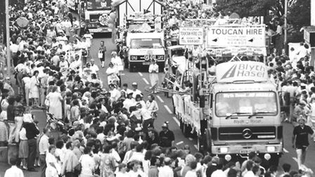 Lord Mayor's Procession. Date: July 1987. Picture: EN Library