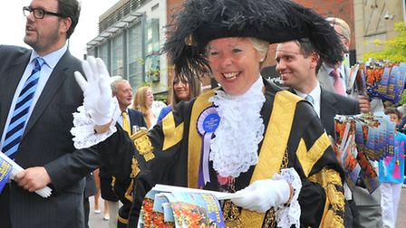 Lord Mayor's Celebration procession 2014. Photo by Simon Finlay.