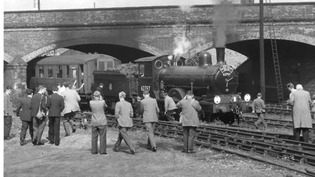 A special train which the Society organised on September 1956. It started at Norwich Victoria statio