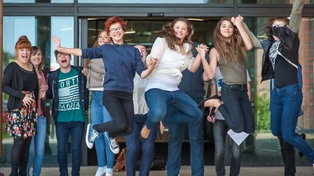 Open Academy saw the biggest increase in Norwich of students achieving the GCSE 'gold standard'. Pho