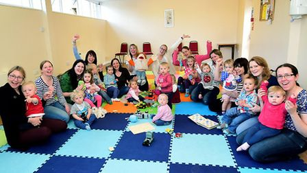 The Tiny Talk Baby and Toddler Signing Class at the Belvedere Centre. Picture: ANTONY KELLY
