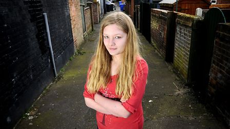 Toni Court, who was bullied for three years. Picture: Antony Kelly