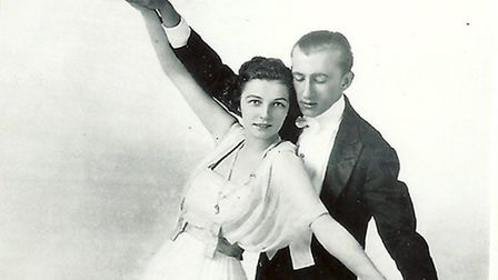 Vernon dancing with Irene. Picture: Philip Yaxley Collection