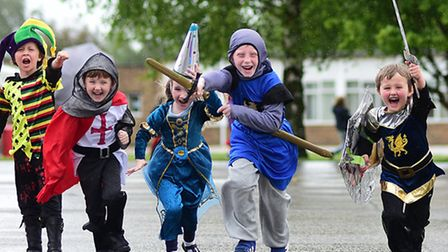 Medieval day at Kinsale Infant School.Picture: ANTONY KELLY