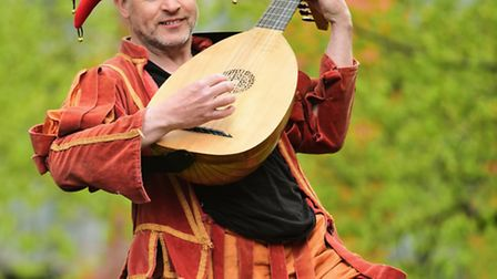 Rick Jones returns to Norwich after re-enacting Will Kemp's journey of dancing from London to Norwic