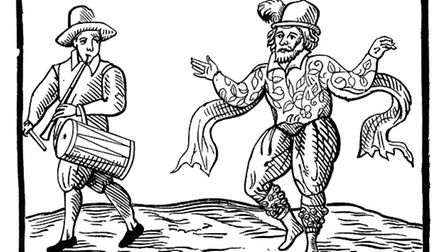 Comic actor and dancer William Kempe danced the morris from the Mansion House, London, to the church