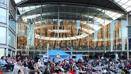 Live opera and film will be screened outside the Forum this July as part of the Lord Mayor's Celebra