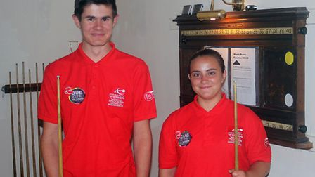 West Acre Billiards Club's Jack Easter and Rochy Woods have just attained a qualification as WPBSA W