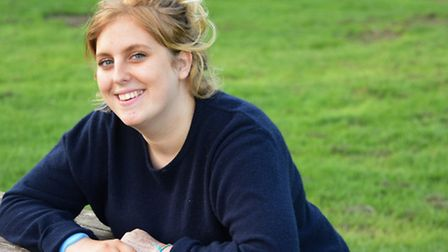 Julia Schoppe, 17, of Trowse, who has been diagnosed with MS, but is determined to enjoy life. Pictu