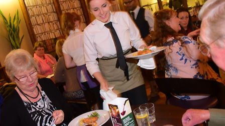 The annual Lloyd Addison's Moveable Feast takes place around the restaurants of Norwich after a rece