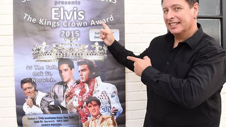 King Crown Award competition to find the best Elvis Presley which will take place at The Talk on Oct