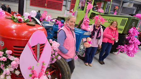 Visitors and exhibitors enjoy the Eastern Counties Vintage Show at the Norfolk Showground. Annie Cha