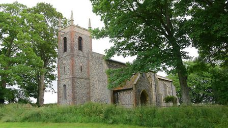 Lead thieves targeted the church at Carelton Forehoe last month, causing damage which will cost £30,