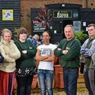 Staff and shop owners at Hellesdon Barns are angry that they hadn't been consulted about the closure