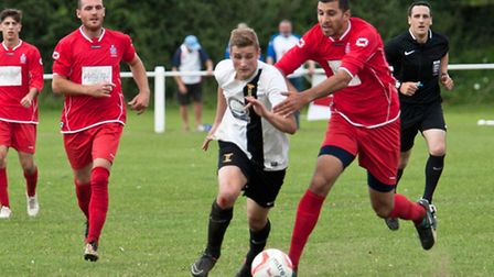 Joe Jackson has left Swaffham Town to join Norwich United. Picture: EDDIE DEANE