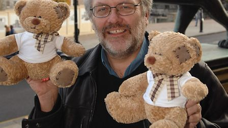 Steve Morphew from Norwich City Council backing the Evening News teddy bear campaign. Picture: James