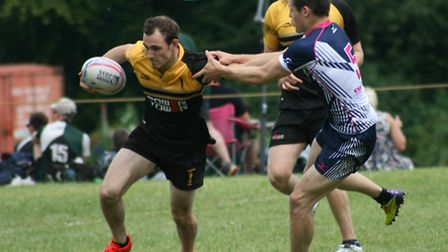 Action from the Swaffham Summer Sevens, Swaffham v Sudbury. Pictures: Jim Crouchman