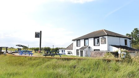 The Berney Arms pub, one of Norfolk's most isolated pubs.Picture: James Bass