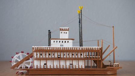 Matchstick models made by Darek Kusiak from Sprowston.PHOTO: Nick Butcher