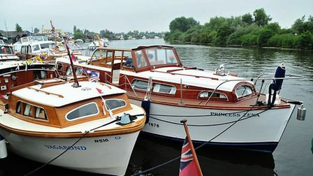 Broom Boats 115th anniversary with some of the old boats back at Brundall. Picture: Duncan Abel <ple