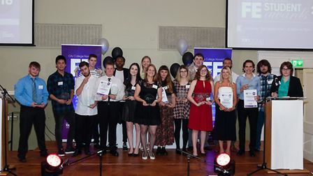 Winners of the City College Norwich Further Education Awards