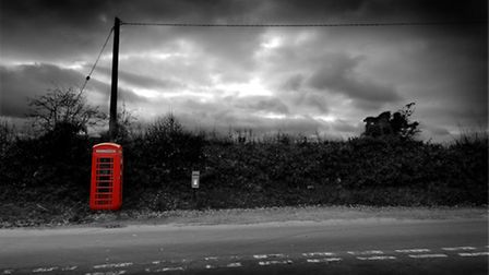 EDP Photo Essay.The face of our rural county is changing as more and more red phone boxes become red