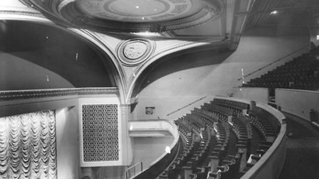 The grand interior of the former Regent Cinema in Norwich in 1961 Picture: Archant
