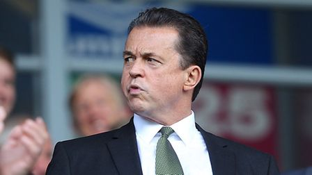 Norwich City boss Jez Moxey has outlined his vision for the Canaries. Picture: PA