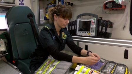 Heidi, a paramedic who has been sexually assaulted. Photo: Mustard TV