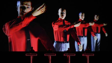 German electronic music pioneers Kraftwerk have been featured in the monthly magazine Electronic So