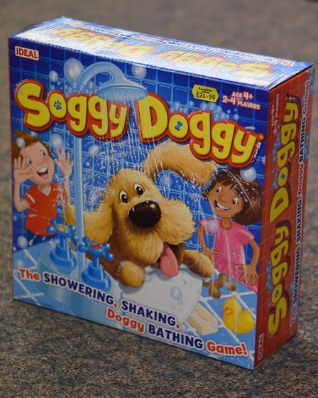 One of the top games being sold at Langleys Toys this Christmas, Soggy Doggy. Picture: DENISE BRADLE