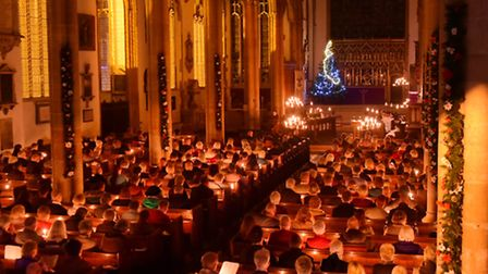 The Norwich Evening News Carols for Christmas candlelit night of carols and music at St Peter Mancro